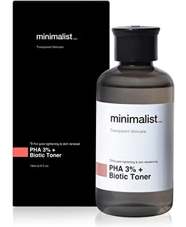 Be Minimalist Pha 3% + Biotic Toner