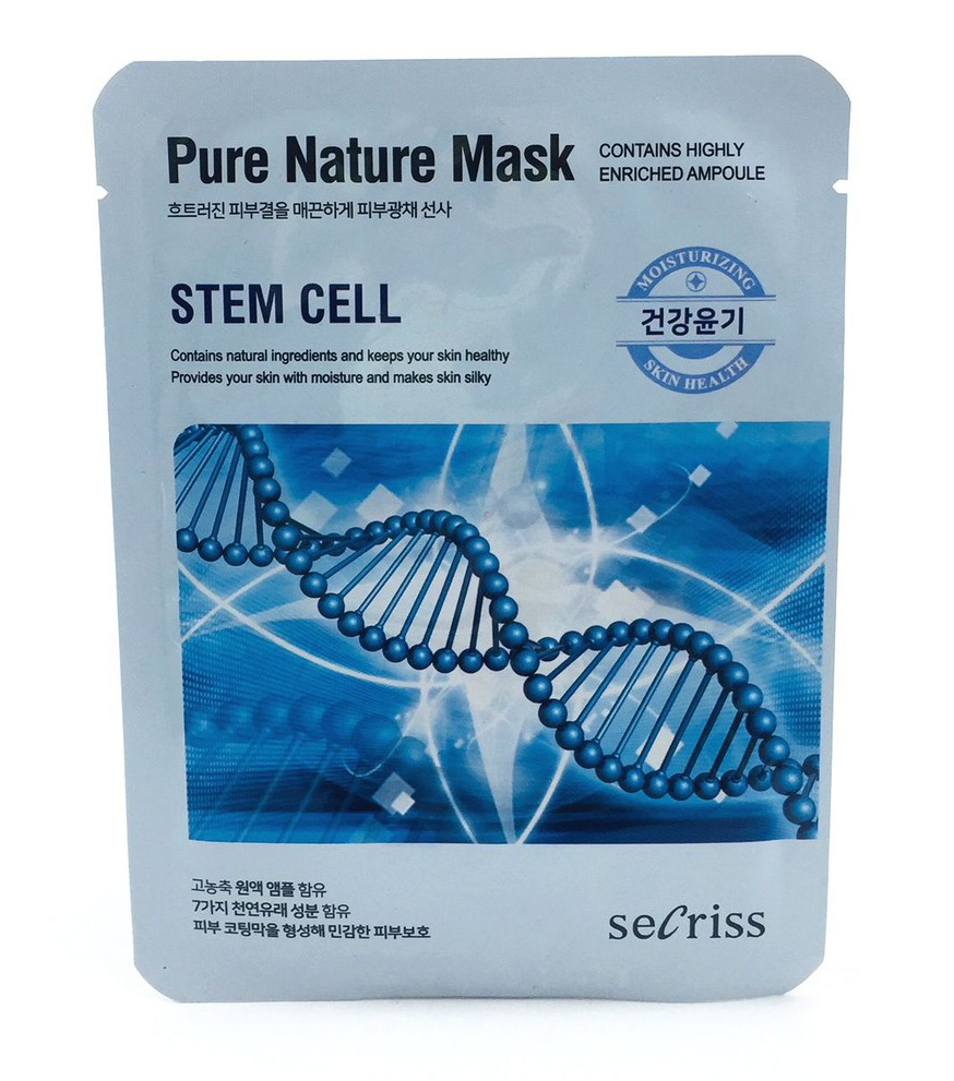 Secriss Pure Nature Sheet Mask Stem Cell