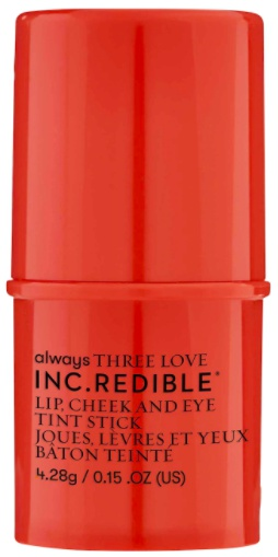 INC.redible Three Love Lip, Cheek And Eye Tint Stick (Peach And Love)