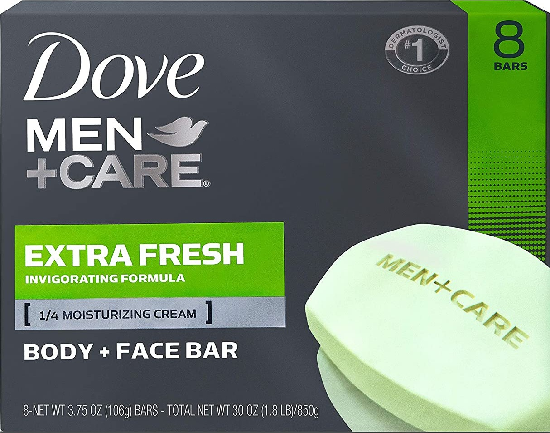Dove Men Care Extra Fresh Body And Face Bar