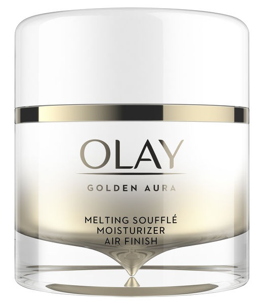 Olay Golden Aura Melting Soufflé Moisturizer Air Finish