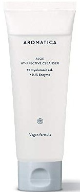Aromatica Aloe Hy-ffective Cleanser 5% Hyaluronic Sol.+ 0.1% Enzyme
