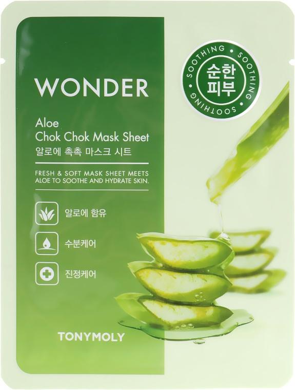 TonyMoly Wonder Aloe Chok Chok Mask Sheet