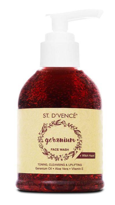 St. D'Vence Geranium Facewash
