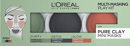 L'Oreal Paris Multi-Masking Play Kit - Pure Clay Mini Masks