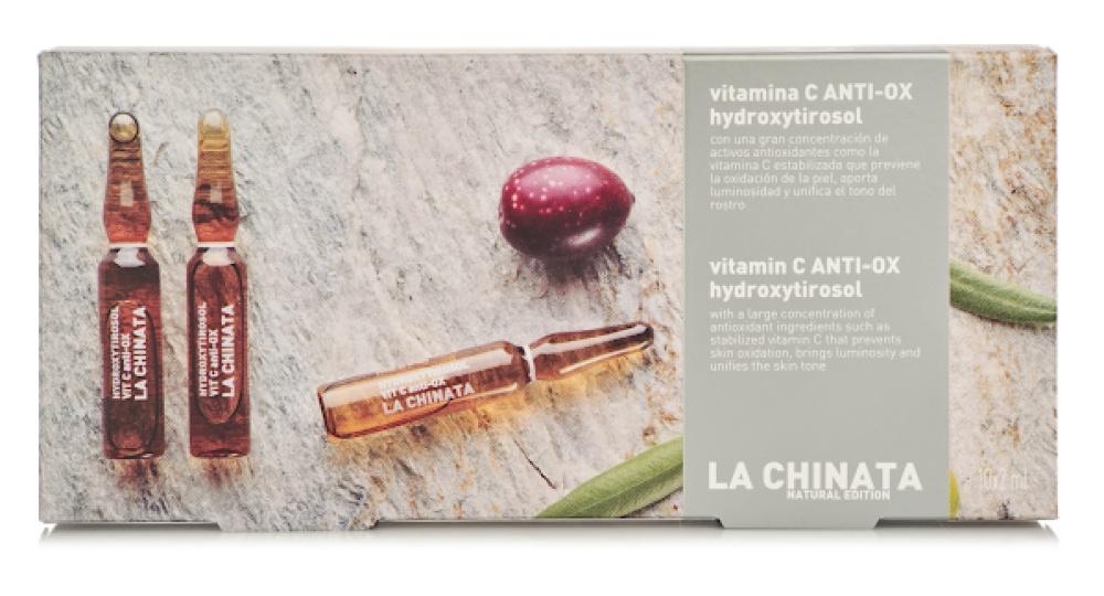 La Chinata Ampollas Vitamina C Anti-ox Hidroxytirosol