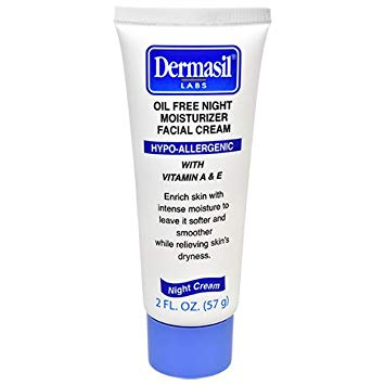 Dermasil Lab Oil Free Night Moisturizer Facial Cream With Vitamin E