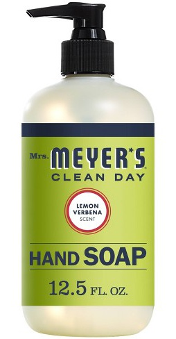 Mrs. Meyer's Clean Day Liquid Hand Soap Lemon Verbena
