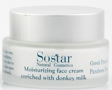 Sostar Moisturizing Face Cream With Donkey Milk