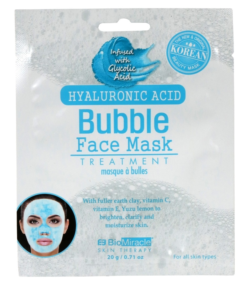 Bio Miracle Hyaluronic Acid Bubble Face Mask