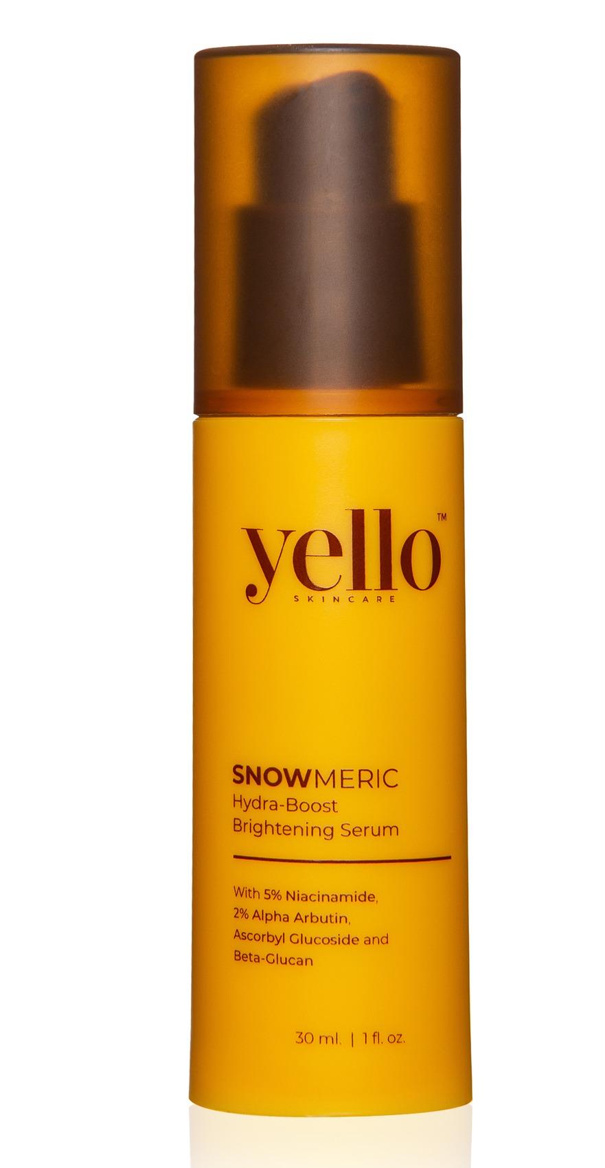 Yello Skincare Snowmeric Hydra-Boost Brightening Serum