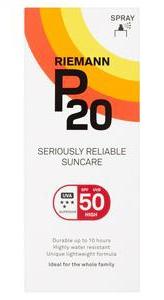 Riemann P20 High Protection Suncare Spray Spf50
