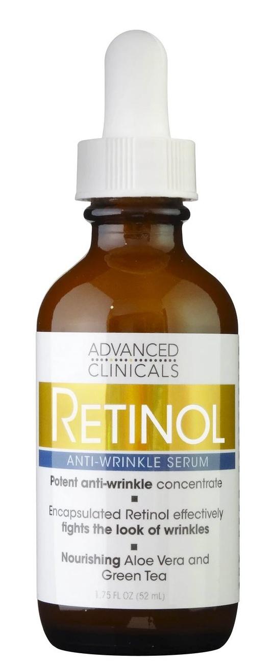 Advanced Clinicals Retinol Anti-Wrinkle Serum