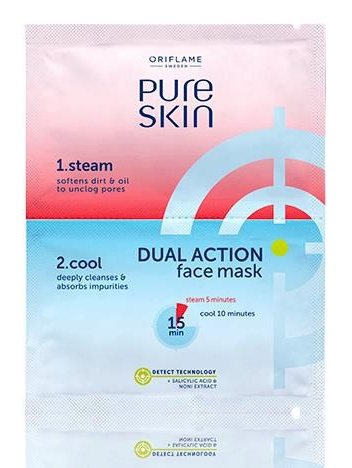 Oriflame Face Mask Double Action Pure Skin