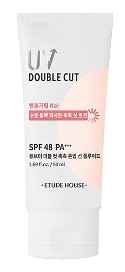 Etude House Uv Double Cut Moisture Tone Up Sun Fluid Spf48 Pa+++