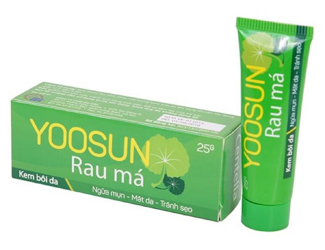 Yoosun Rau Má (Centella Asiatica)