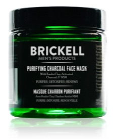 Brickell Men's Products Purifying Charcoal Face Mask For Men