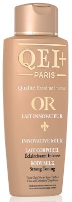 QEI+ Body Lightening Lotion Intense Gold