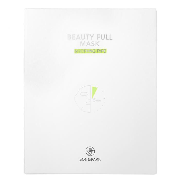 SON & PARK Beauty Full Mask Soothing Type