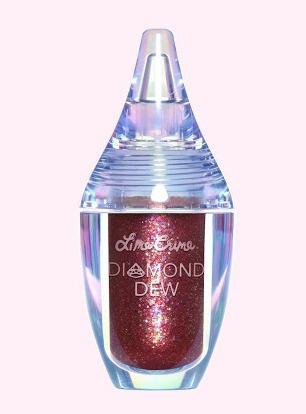 Lime Crime Diamond Dew Burgundy Iridescent Liquid Eyeshadow