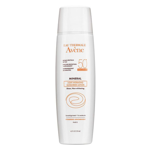 Avene Light Mineral Lotion Spf 50+ (Face & Body) (Canada)