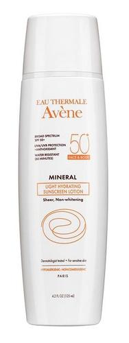 Avene Light Mineral Lotion Spf 50+ (Face & Body) (Canada)