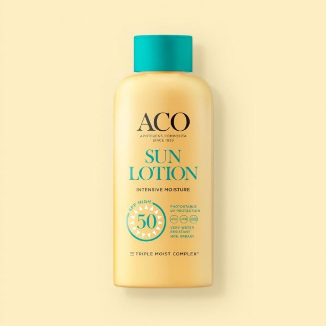 ACO Sun Lotion Intensive Moisturize Spf50 +