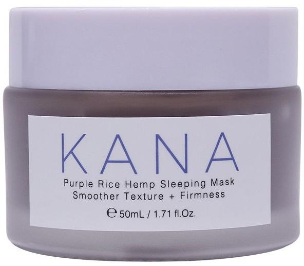 KANA SKINCARE Purple Rice Hemp Sleeping Mask