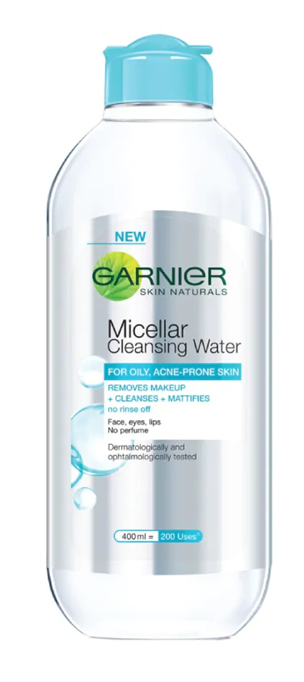 Garnier Pure Active Micellar Cleansing Water For Oily and Acne-prone Skin