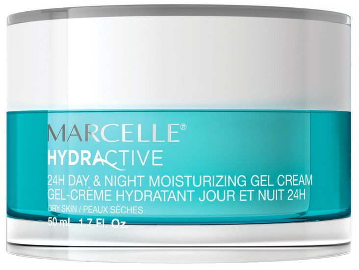Marcelle Hydractive 24H Day & Night Moisturizing Gel Cream (Dry Skin)