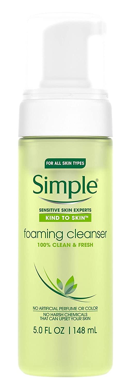 Simple Kind To Skin Foaming Cleanser Vital Vitamin