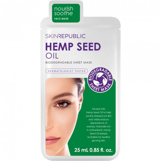 Skin Republic Hemp Seed Oil Sheet Mask