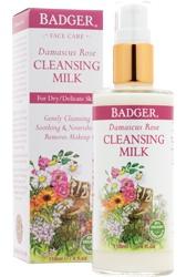 Badger Organic Rose Cleansing Milk
