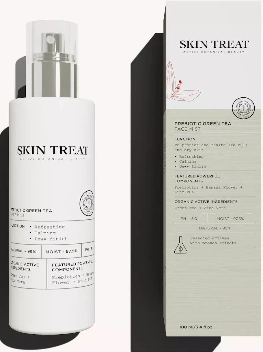 Skin Treat Prebiotic Green Tea Face Mist