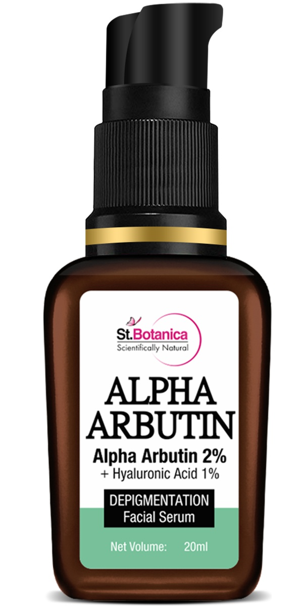 St. Botanica Alpha Arbutin 2% + Hyaluronic Acid 1% Depigmentation Face Serum