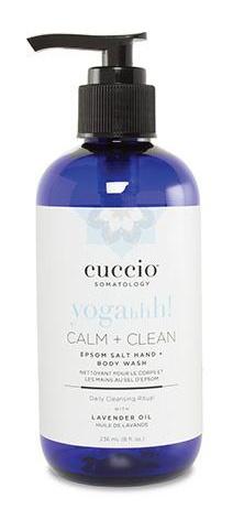 Cuccio Somatology CALM + CLEAN LAVENDER BODY + HAND WASH