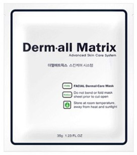 Derm-all Matrix Facial Dermal-Care Mask