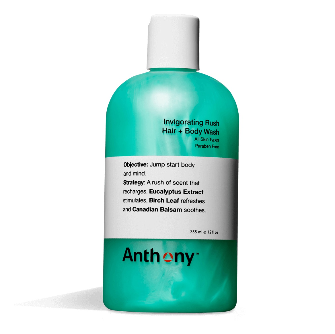 Anthony Invigorating Rush Hair + Body Wash