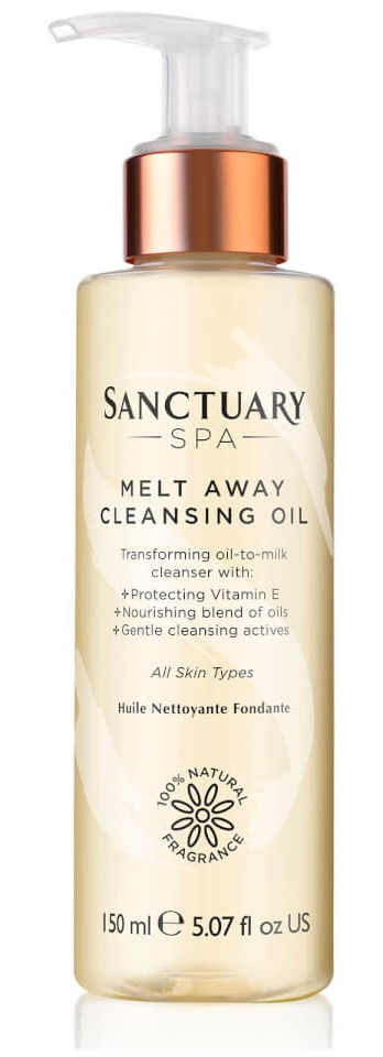 Sanctuary Spa Melt Away Cleansing Oil