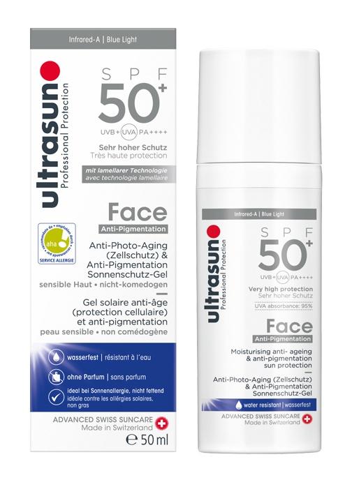 Ultrasun Professional Protection Face Anti-Pigmentation Spf50+