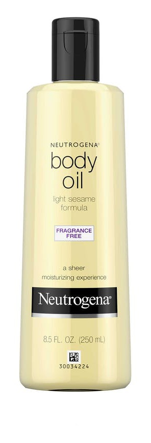 Neutrogena Body Oil Fragrance Free