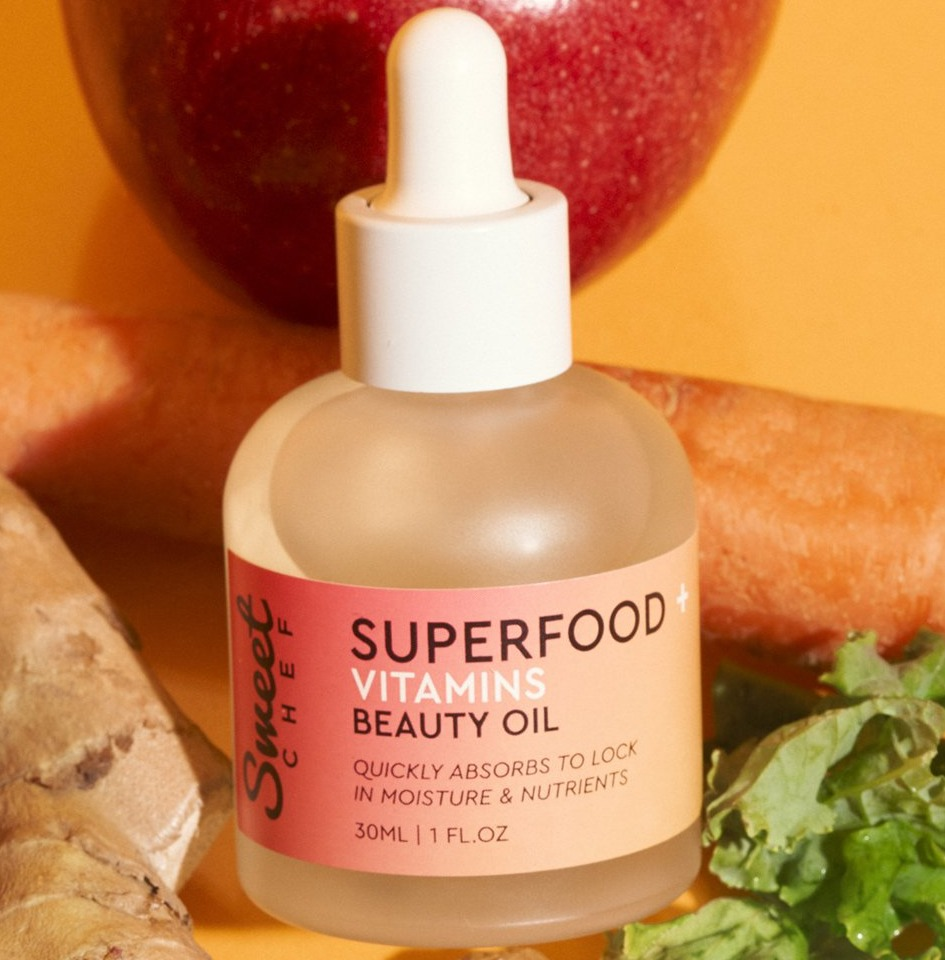 Sweet Chef Superfood + Vitamins Beauty Oil