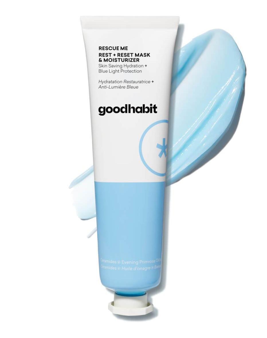 goodhabit Rescue Me Rest + Reset Mask & Moisturizer