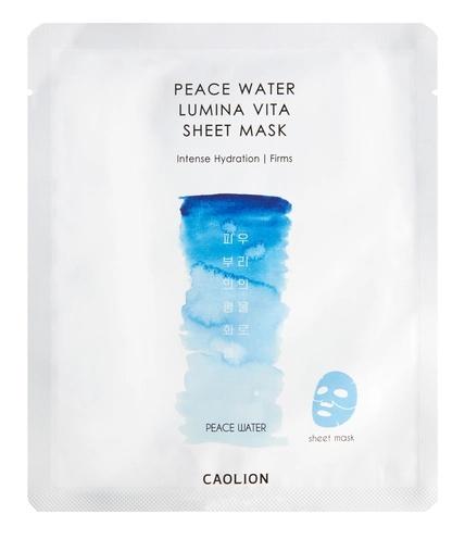 Caolion Peace Water Lumina Vita Sheet Mask