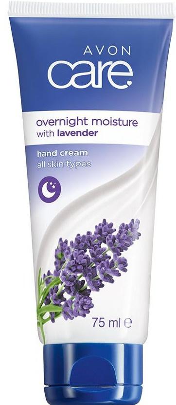 Avon Care Overnight Moisture With Lavender Hand Cream