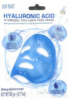 Skin Treats Hyaluronic Acid Hydrogel Collagen Face Mask