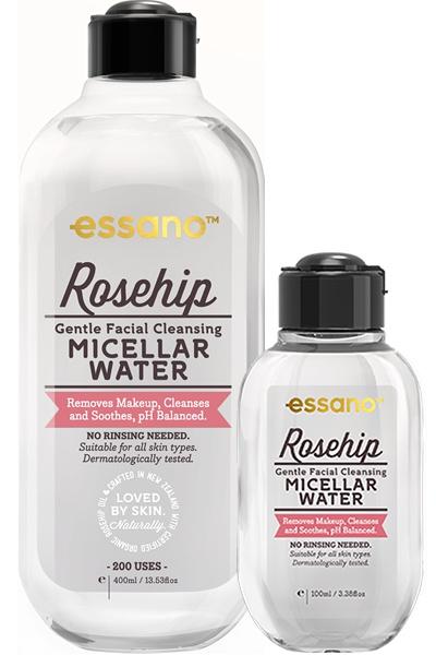 Essano Rosehip Gentle Facial Cleansing Micellar Water