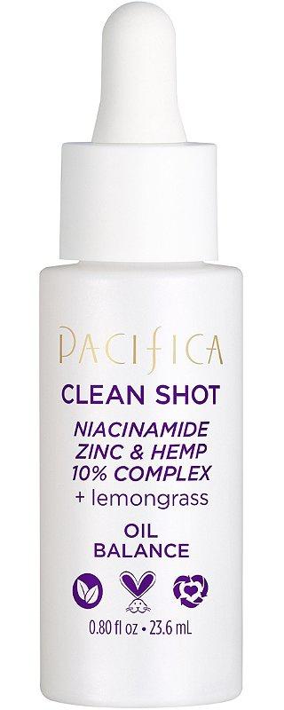 Pacifica Clean Shot Niacinamide, Zinc & Hemp 10% Complex