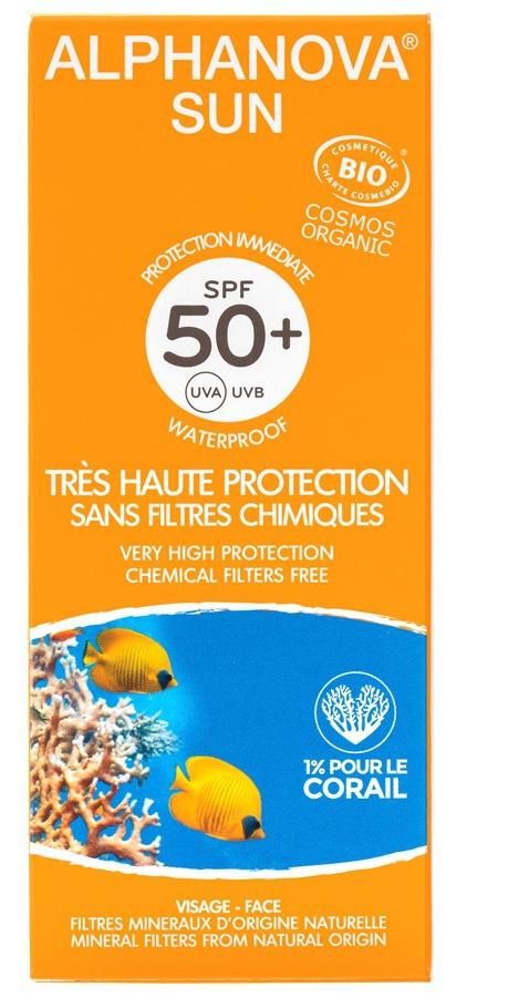 ALPHANOVA SUN Organic Certified Sun Milk Spf 50+