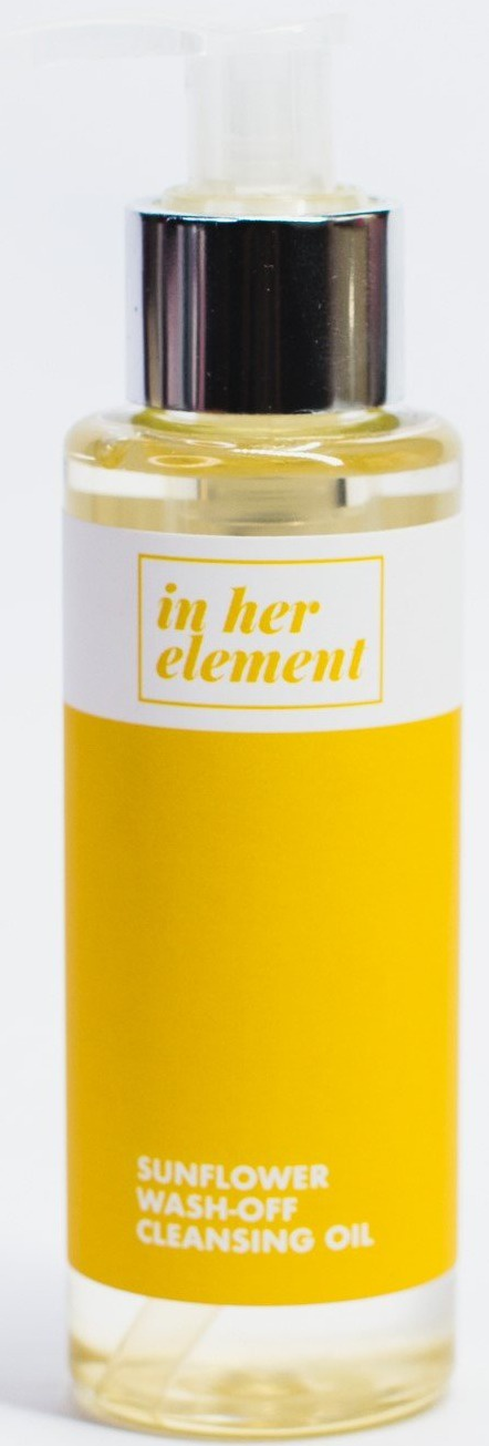 in her element Sunflower Wash-Off Cleansing Oil